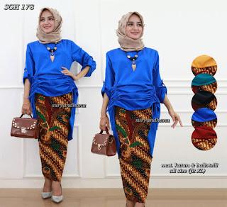 setelan baju batik modern
