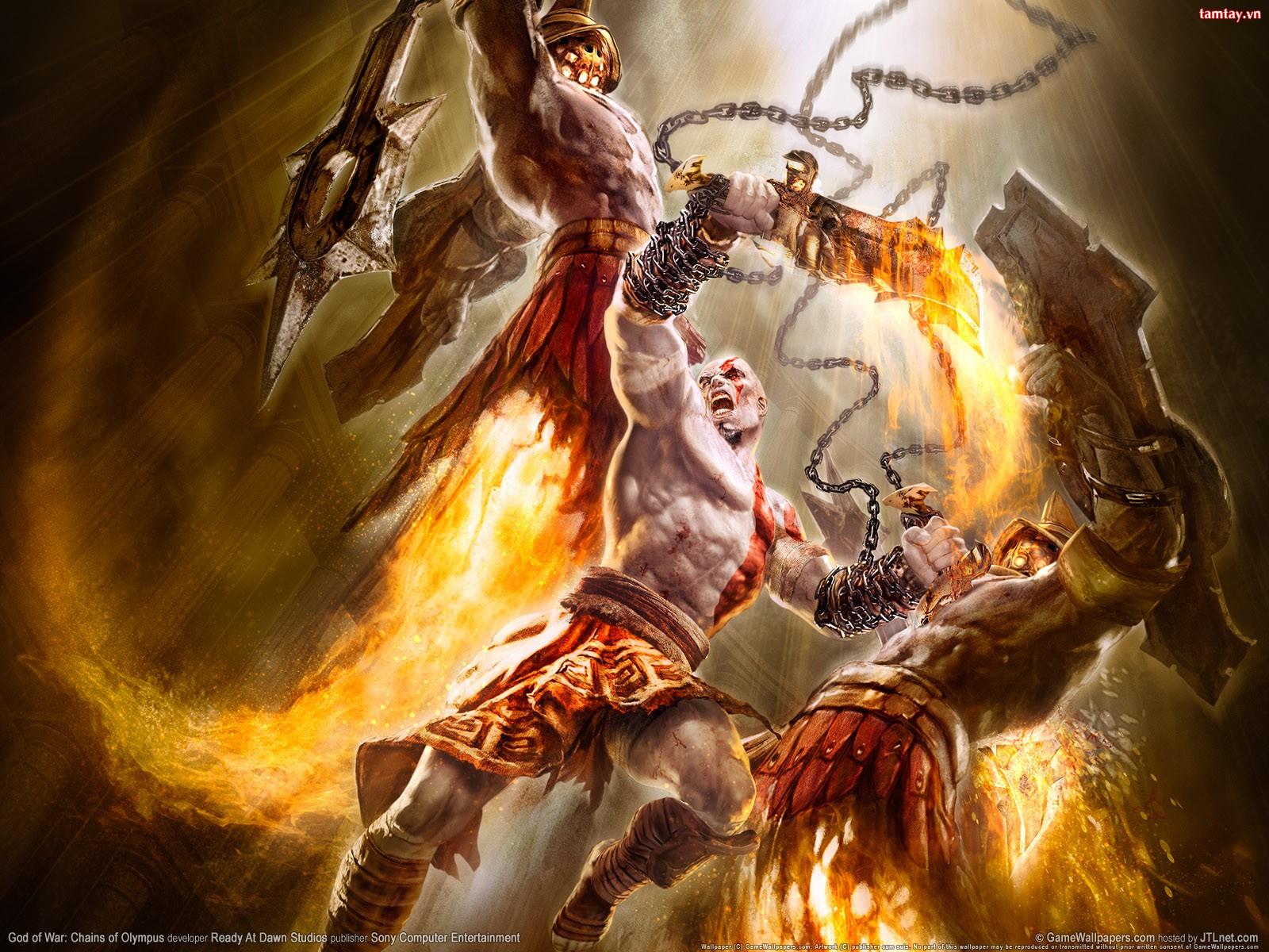 ARQUIVO DE IMAGENS: GOD OF WAR