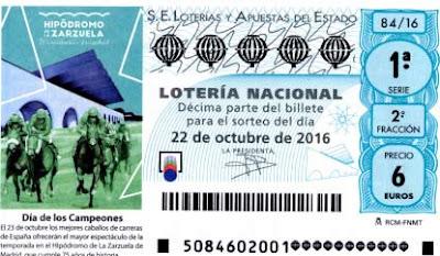 loteria nacional sabado 22 de octubre de 2016