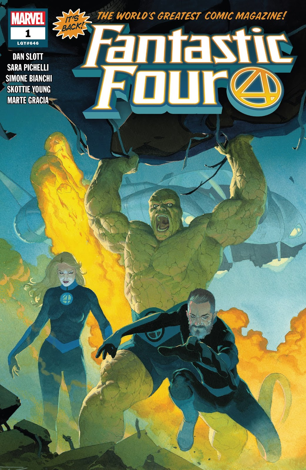 Fantastic Four (2018) issue 1 - Page 1