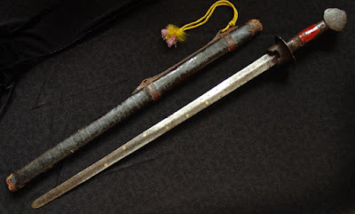Ming Dynasty jian sword
