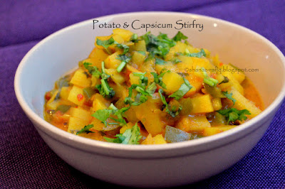 Potato & Capsicum Curry