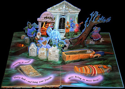 Disney's 1994 Haunted Mansion Pop-Up Book