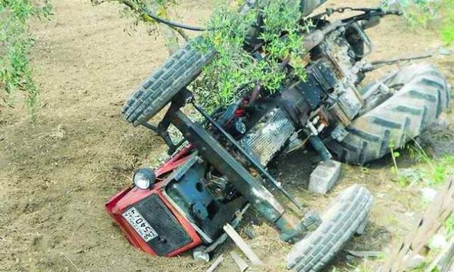 Άλλος ένας άτυχος αγρότης καταπλακώθηκε από το τρακτέρ του στο Σαραντάπορο Ελασσόνας