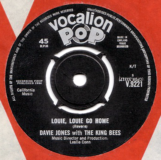 David Bowie, single 1964 side B