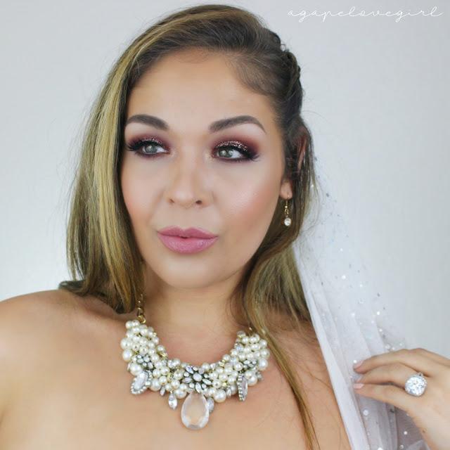 Glam Bridal Makeup : Agape Love Designs