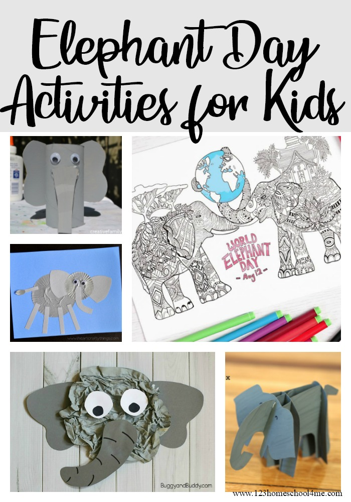 World Elephant Day Activities