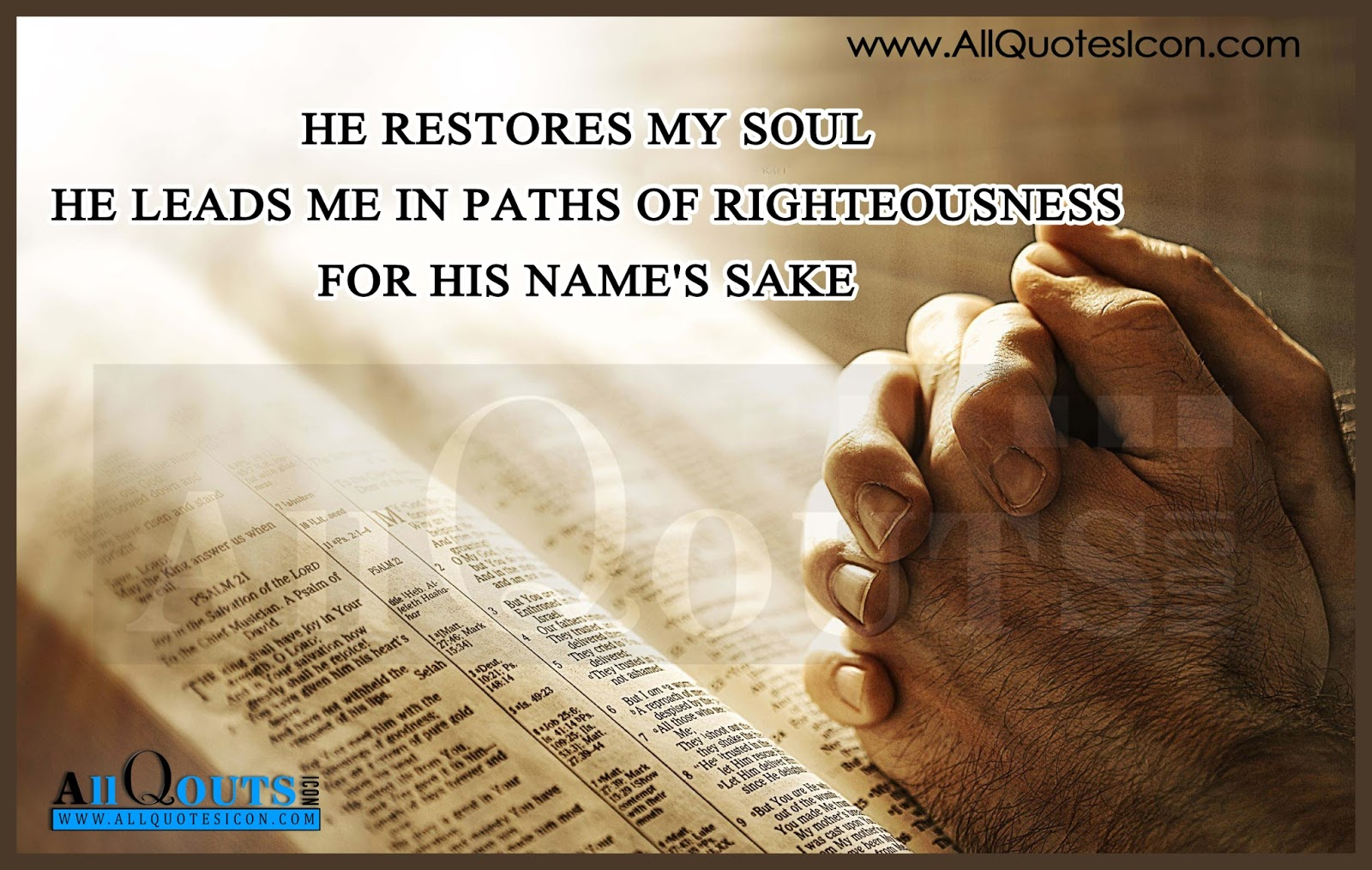 Holy Bible Quotes in English HD Wallpapers Best Jesus Christ