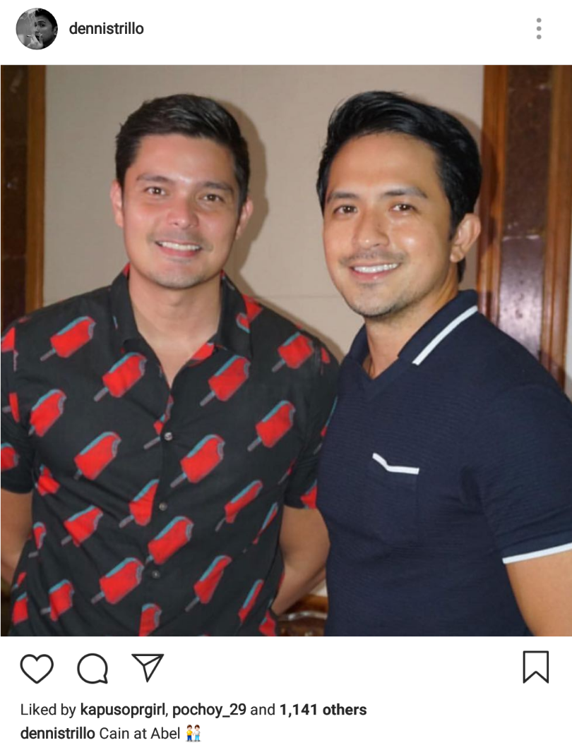 Cain and Abel stars Dingdong Dantes and Dennis Trillo ...