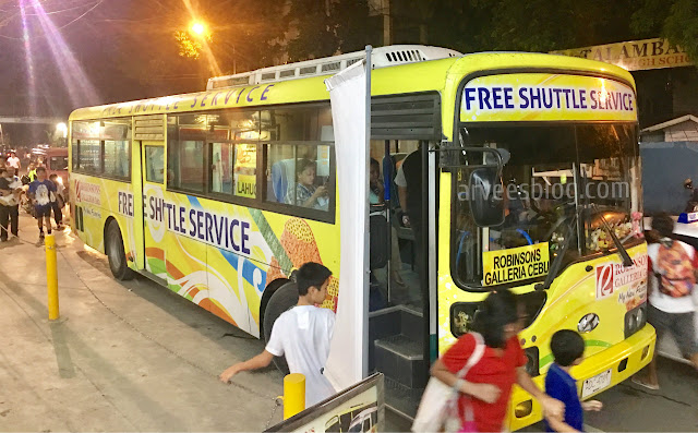 Robinsons Galleria Cebu Free Shuttle Services