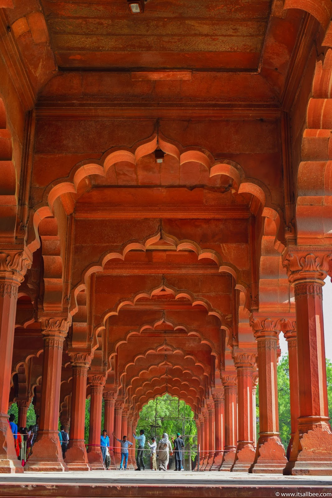 India - places to visit in Delhi - The Red Fort