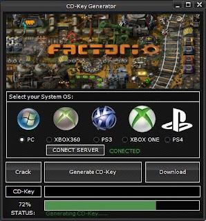 Factorio Key Generator (Free CD Key)