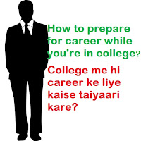How to prepare for career while you're in college - image
