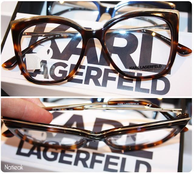 Modèle optique de Karl Lagerfeld