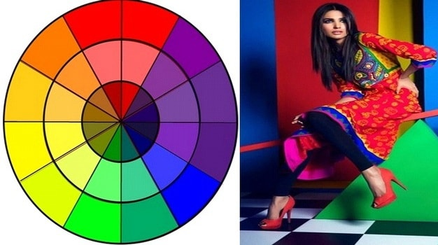 Relation with color and design