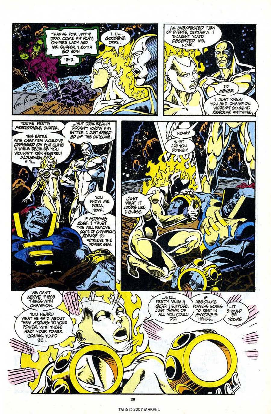 Read online Silver Surfer (1987) comic -  Issue #98 - 31