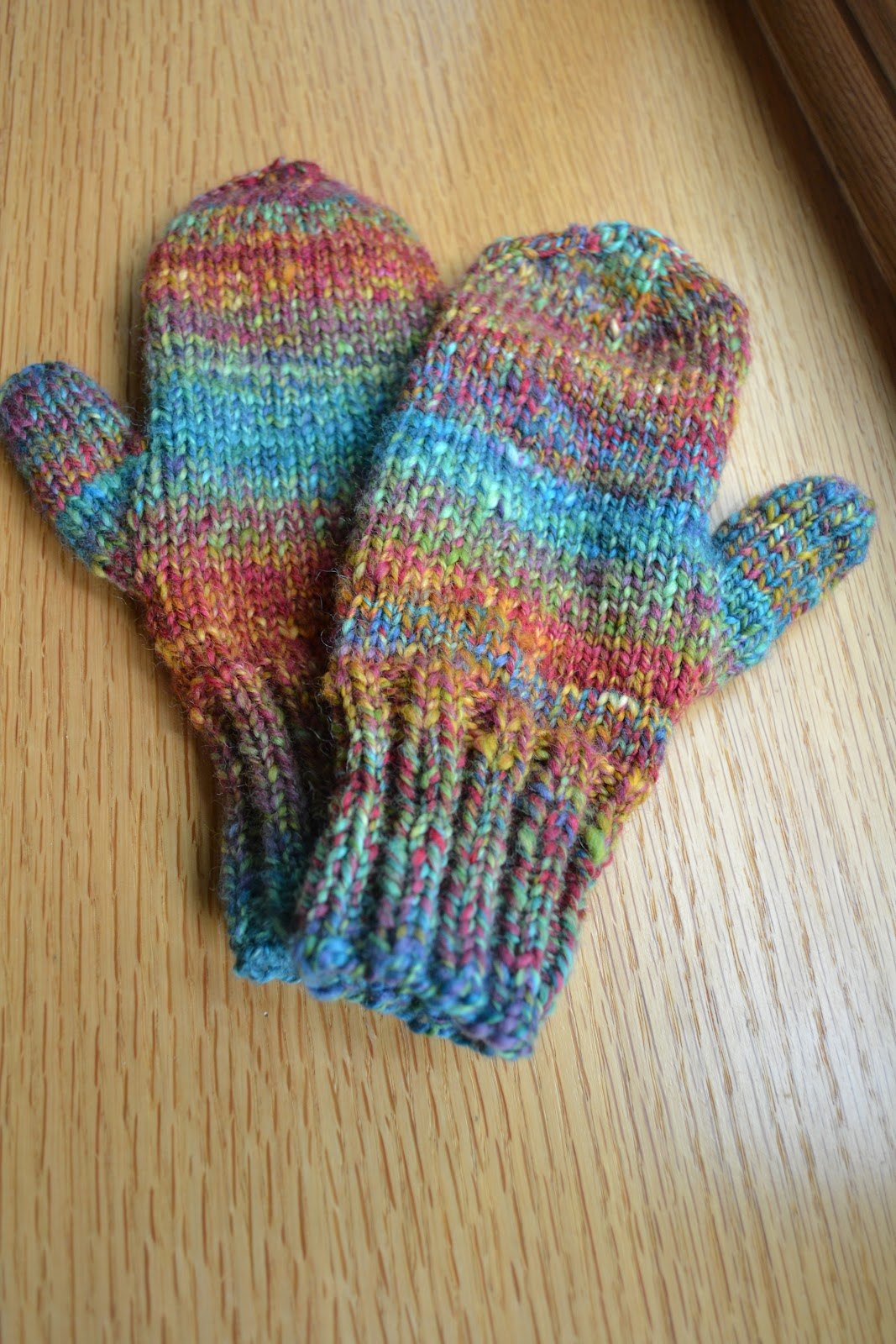 Susan B. Anderson: Waiting for Winter Mittens