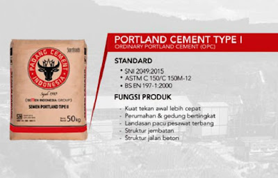 Ordinary Portland Cement (OPC) Tipe I - berbagaireviews.com
