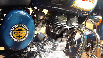 Royal Enfield Classic 350 engine motorcycle