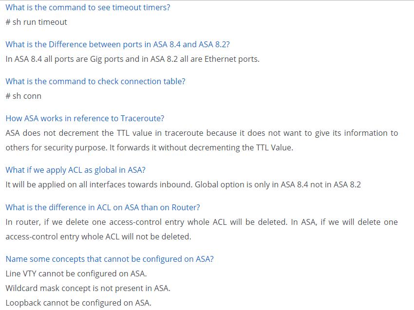 ASA Data Interview Question Interview Question