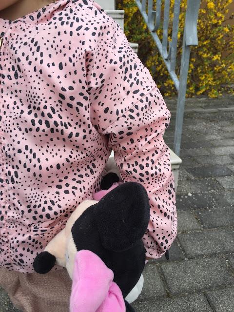 rosa Jacke von Tumble `N Dry