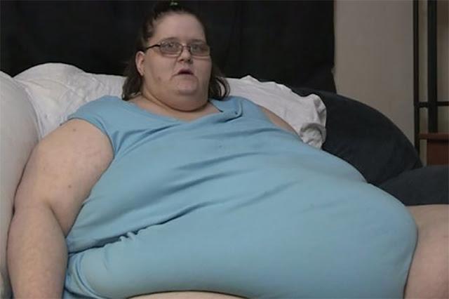 250-килограммовая женщина родила ребенка. Как думаете, сколько он весит?