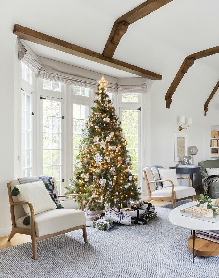 Decoración tradicional para Navidad de la bloggera más famosa