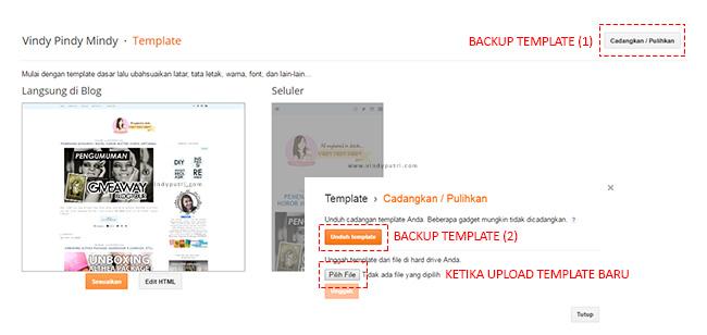Backup-Upload Template Blog