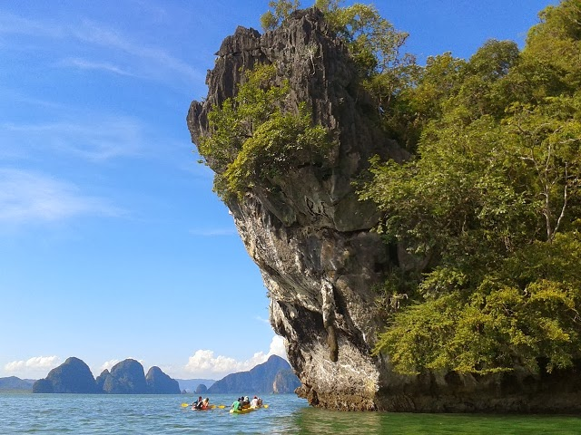 Sea Canoe in Phang Nga Bay with incredible landcapes