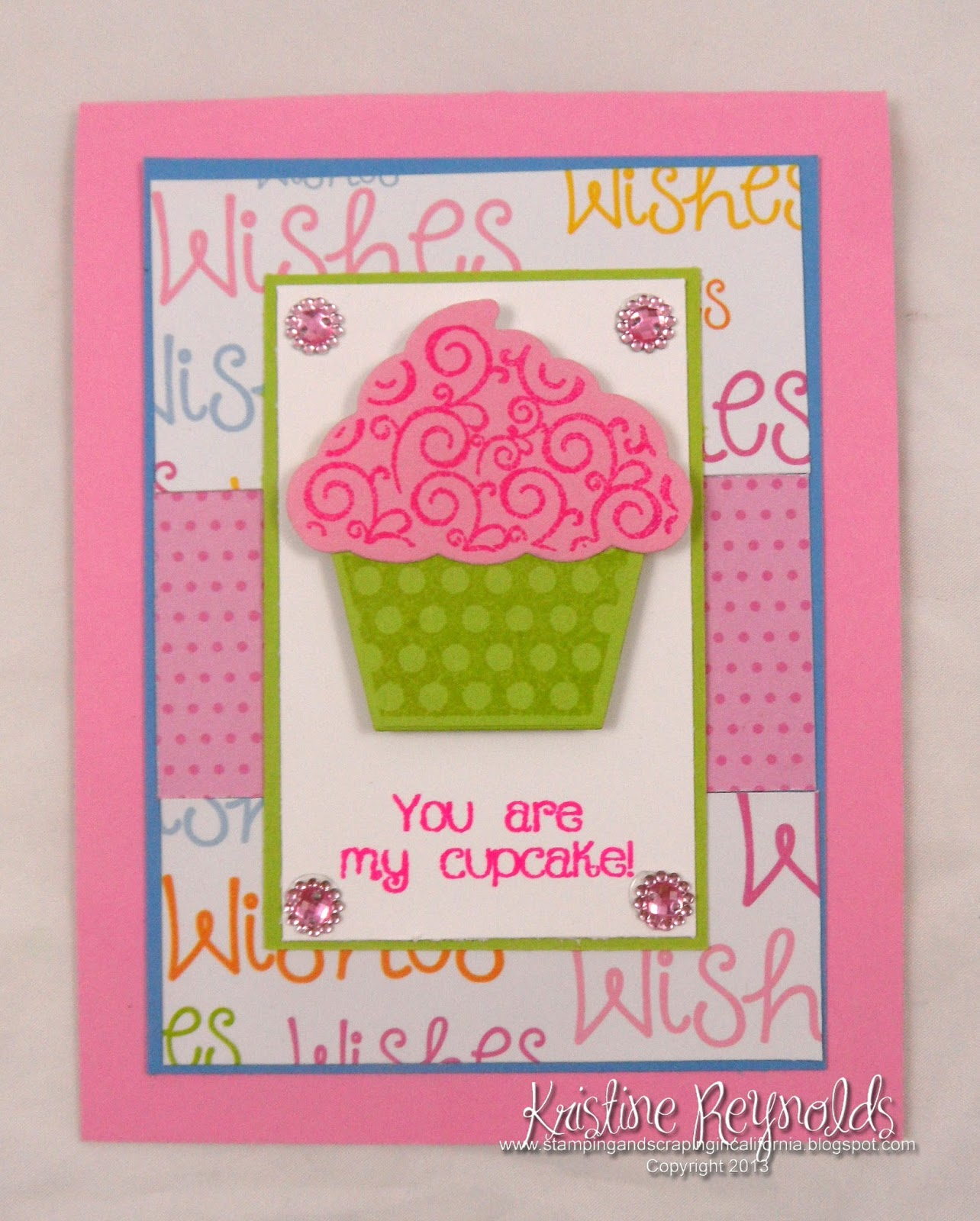 Stamping & Scrapping In California: Cupcake Cards
