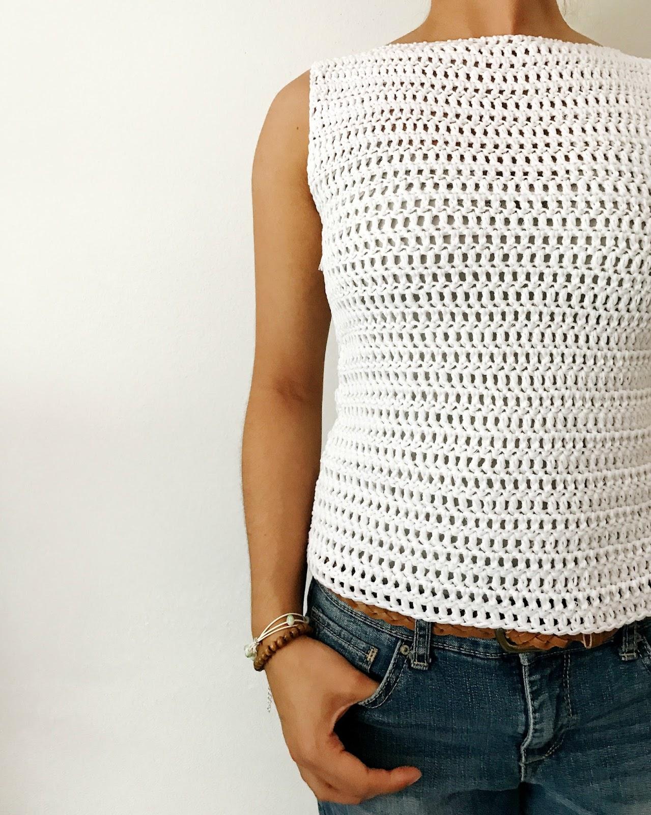 Brenna Ann Handmade: NEW Crochet Pattern - The Simple Spring Crochet Top