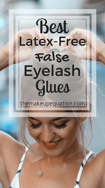 best latex free fake eyelash glue. best false eyelash glue. #lashes #makeup #beauty #fakelashes #latexfree