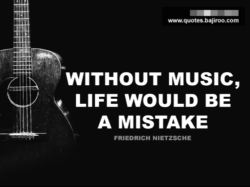 Marie's Blog: Music Quotes