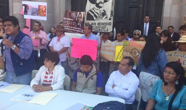 Protestas por ley Atenco en Toluca