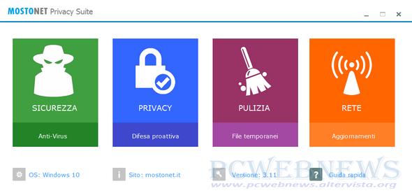 Mostonet Privacy Suite