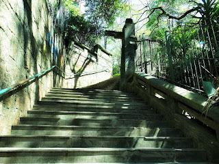 Escadaria do Ricaldone, entre as Ruas Santo Inácio e Marquês do Pombal , Porto Alegre