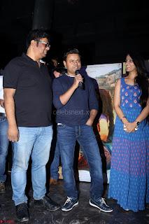 Pia Bajpai and Darshan Kummar Launching the Music of movie Mirza Juuliet 002.JPG