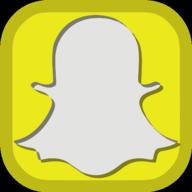 snapchat social button