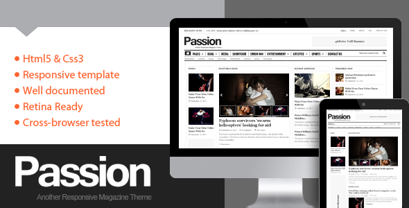 Responsive Magazine WordPress Theme 2014