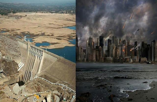 Mengeringnya Sungai Eufrat Jadi Tanda Kiamat Sudah Semakin Dekat
