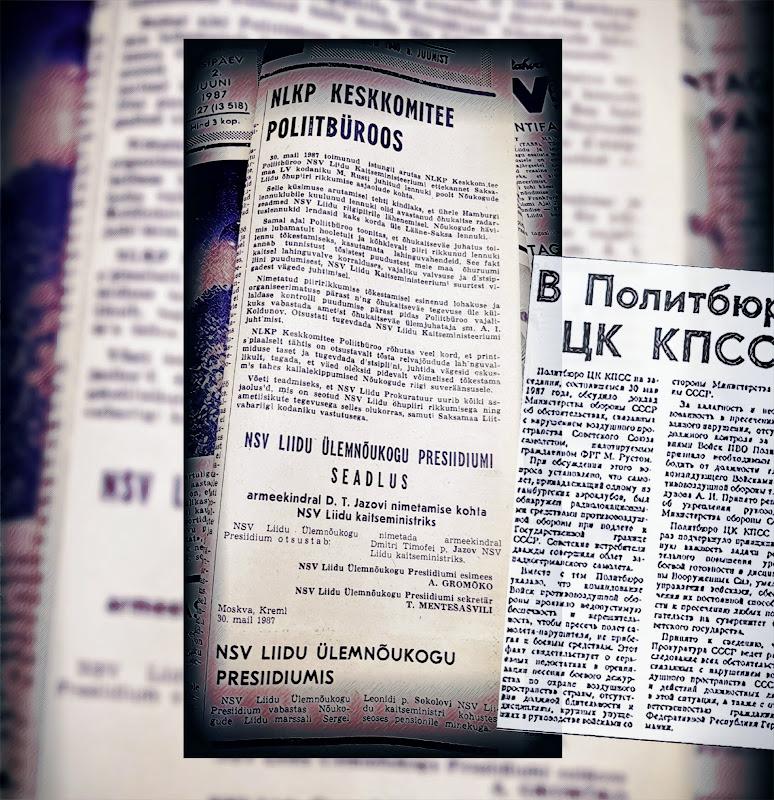 TASSi teadaanne Pravdas ja Rahva Hääles