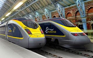 Kereta cepat terbaru buatan eurostar