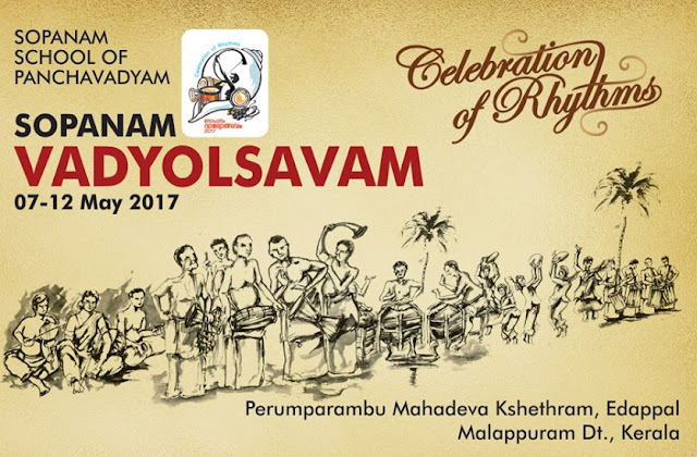 Sopanam Vadyolsavam, The Celebration of Rhythms