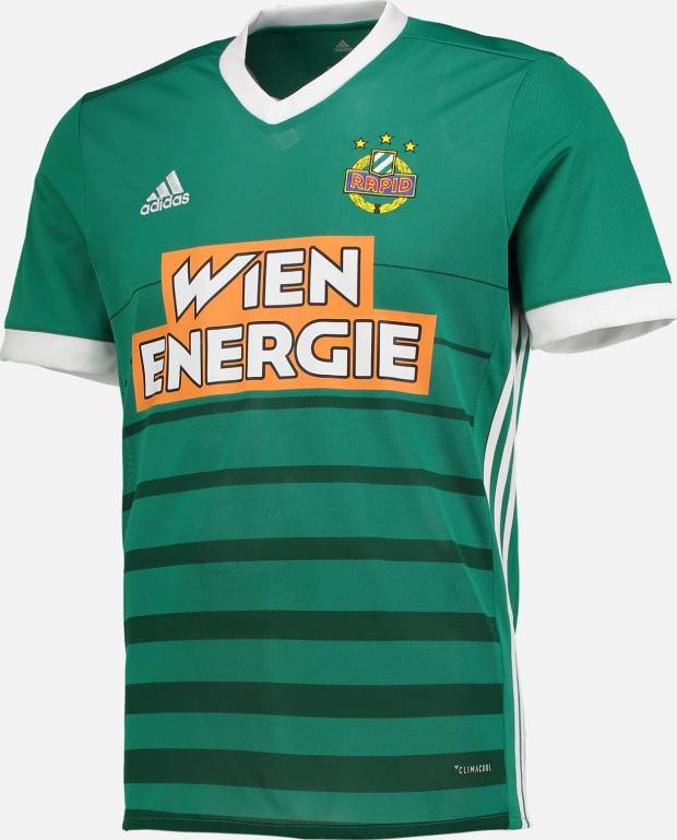 Adidas apresenta novas camisas do Rapid Viena. A Adidas divulgou os novos  uniformes ... af3fab4e93874