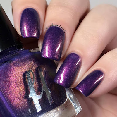 Femme Fatale The Mark of Darkness swatch from the Fire Lily collection