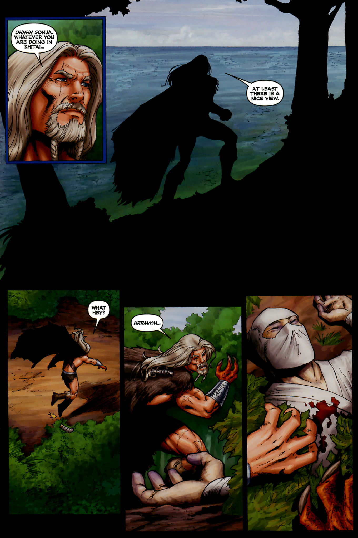 Read online Red Sonja (2005) comic -  Issue #44 - 26
