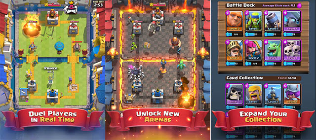 I volition denote novel games that tin last played on android or iphone Download Clash Royale v1.2.6 MOD Apk Latest