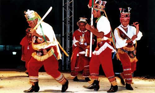 Danza de los Santiagueros