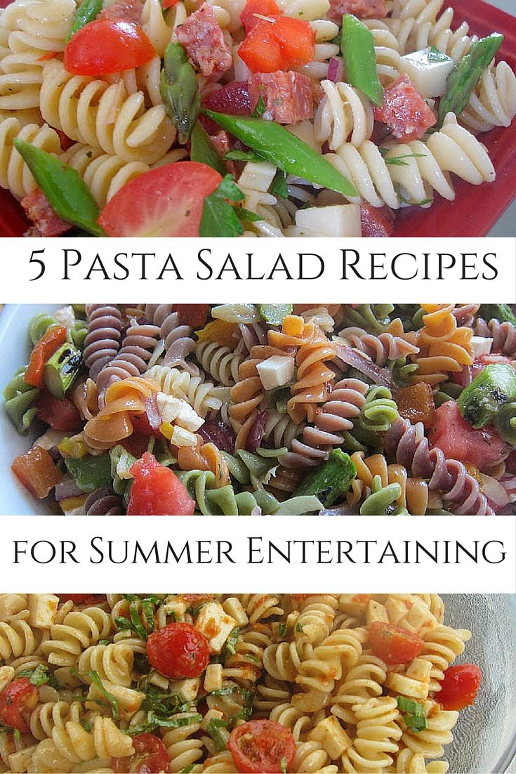 Mary Ellen's Cooking Creations: Pasta Salad Roundup
