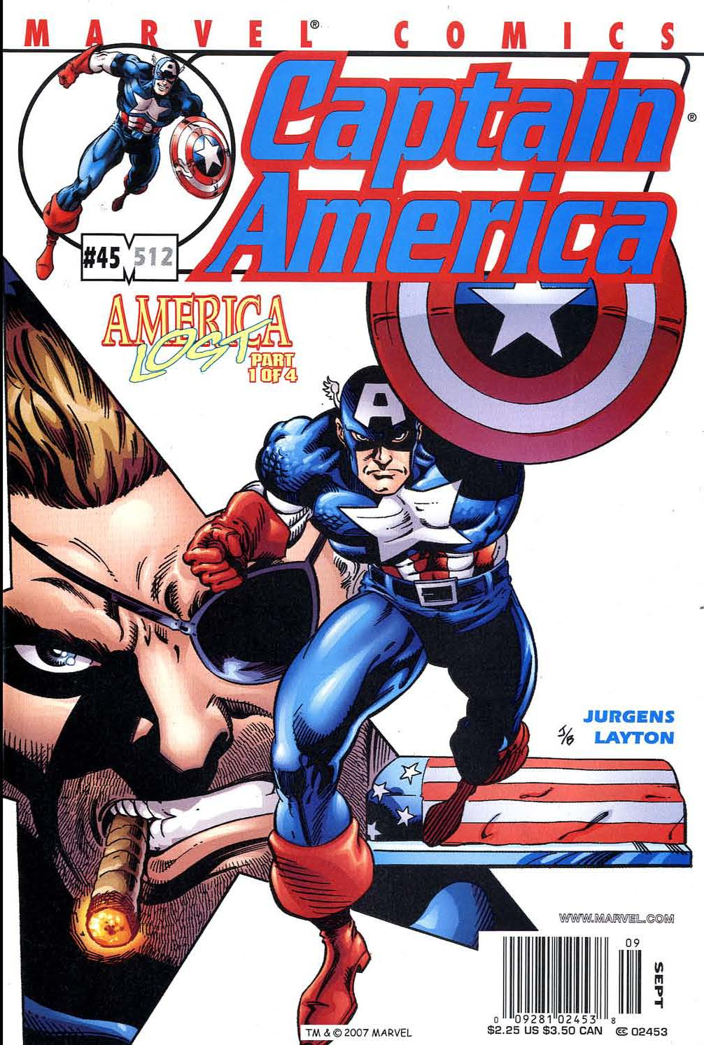 Captain America (1998) Issue #45 #52 - English 1
